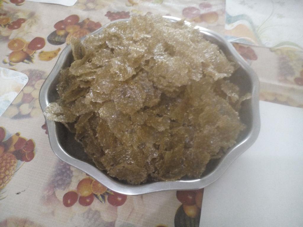 Saggubiyam Vadiayalu (Sago Crisps)