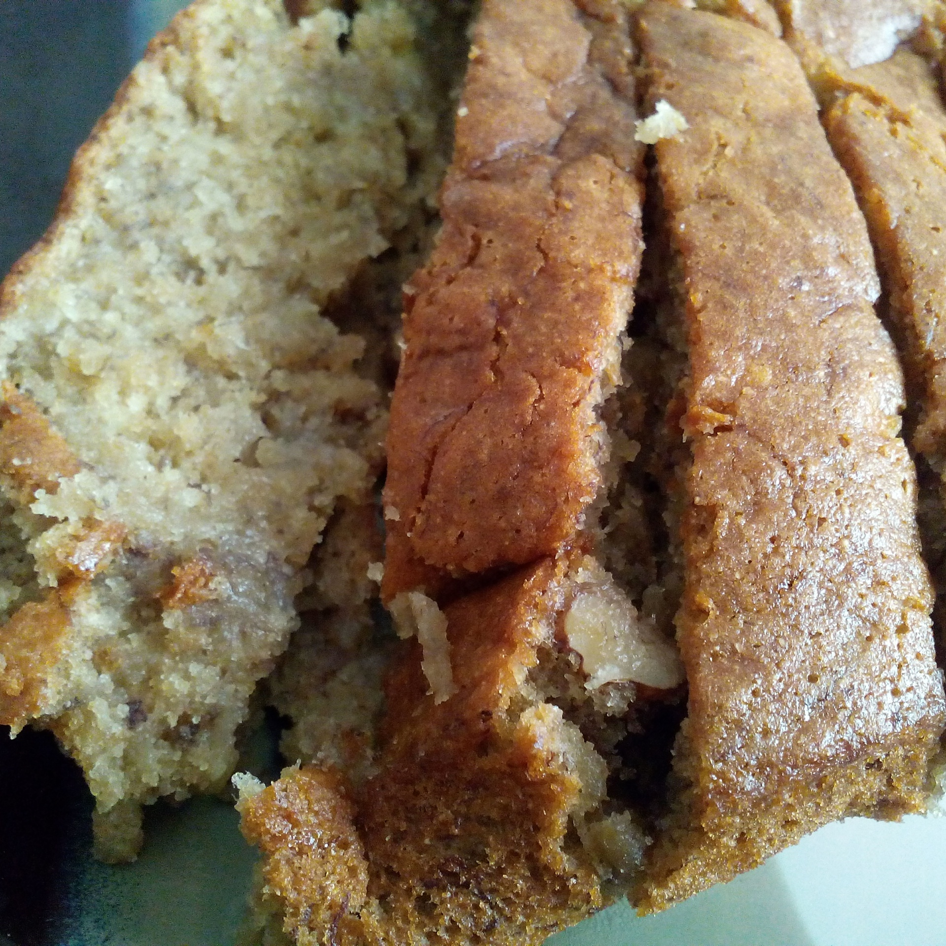 Eggless Banana-Walnut Bread